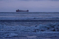 Freighter in the Ice