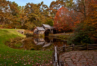 Autumn at the Mabry Mill