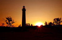 Sunrise at Little Sable Lighthouse
