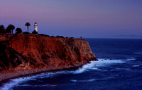 Point Vicente Lighthouse at Sunset, Palos Verde CA