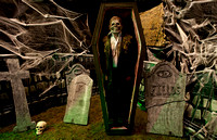 Cemetery Knights 2011 Charleston Rod Run & Doo Wop Haunted House